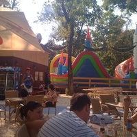 Photo taken at Terasa Carbone by Mihai D. on 8/7/2011
