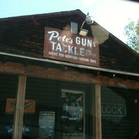 Photo taken at Pete's Gun & Tackle by Lydia A. on 7/17/2011