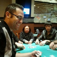 Photo taken at Harrah's Poker Room by Faisal N. on 12/16/2011