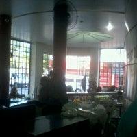 Photo taken at Padaria Santa Cruz by natalia c. on 6/12/2012