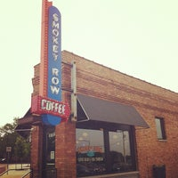 Photo taken at Smokey Row Coffee by Justin V. on 5/19/2012