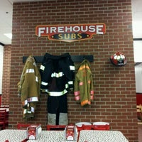 Photo taken at Firehouse Subs by Samuel T. on 3/2/2012
