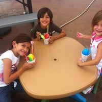 Photo taken at Tiki Treat Snow Cones by John V. on 7/15/2012