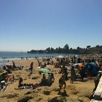 Photo taken at Capitola Beach by Jessica R. on 4/21/2012