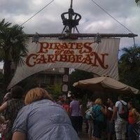 Photo prise au Pirates of the Caribbean par Laeti B. le8/23/2011