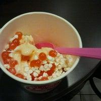 Photo taken at Lulu's Frozen Yogurt by Cheyenne P. on 1/4/2012