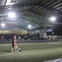 Photo taken at Grand Futsal Kuningan by Tri A. on 1/13/2012