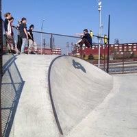 Photo taken at Bethlehem Skateplaza by Yvonne H. on 3/18/2012