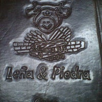 Photo taken at Leña Y Piedra by Sebastian P. on 6/16/2012