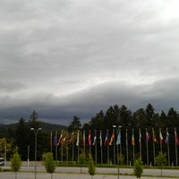 Photo taken at Four Points by Sheraton Ljubljana Mons by Stephen H. on 6/25/2012