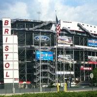 Photo taken at Bristol Motor Speedway by Lucas on 6/19/2012