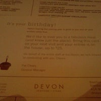 Photo taken at Devon Seafood Grill by Paul L. on 10/22/2011