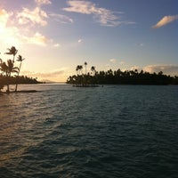 Photo taken at Le Taha'a Private Island And Resort Spa by Sabrina F. on 8/31/2011