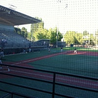 Photo taken at Steve Cox Memorial Field by Virginia G. on 8/24/2011