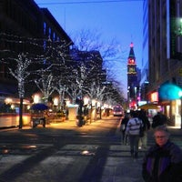 Photo taken at 16th Street Mall by Ian P. on 12/8/2011
