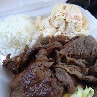 Photo taken at L & L Hawaiian BBQ by Allan on 3/2/2012