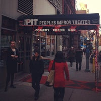 Photo taken at The Peoples Improv Theater by Doug D. on 2/1/2012