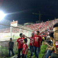 Photo taken at Stadium Sultan Muhammad IV by Puer Naka Z. on 8/25/2012