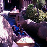 Photo taken at Timber Mountain Log Ride by Claudia V. on 6/9/2012