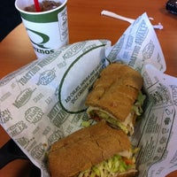 Photo taken at Quiznos by Tom C. on 8/1/2012
