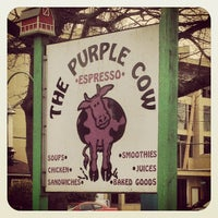 Photo taken at The Purple Cow by Jason T. on 3/24/2012