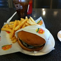 Photo taken at Johnny Rockets by Fabien D. on 4/27/2012