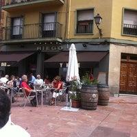 Photo taken at Plaza de Riego by Emilio P. on 9/11/2011