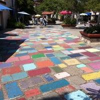 Photo taken at Spanish Village Art Center by Anthony P. on 7/29/2011