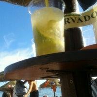Photo taken at Palha Beach Bar by Joao L. on 8/22/2012