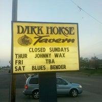 Photo taken at Dark Horse Tavern by Vicki K. on 7/10/2011