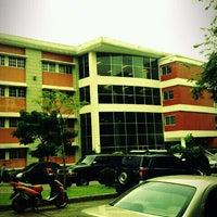 Photo taken at Universidad Tecnológica de Panamá - Campus Central Dr. Víctor Levi Sasso by Pedro C. on 9/6/2011