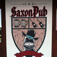Photo taken at Saxon Pub by Melissa F. on 8/5/2012
