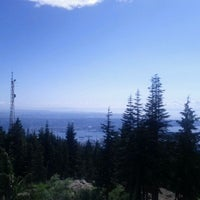 Photo taken at Top of Grouse Grind by @danmcisaac on 8/31/2011
