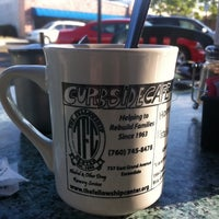 Photo taken at The Curbside Cafe by Zach on 8/2/2011
