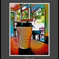 Photo taken at La Stazione Coffee & Wine Bar by Rosemarie M. on 9/12/2012