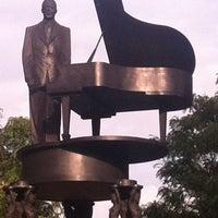 Photo taken at Duke Ellington Memorial by Robert Graham by Mandola Joe on 9/29/2011