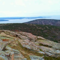 Photo taken at Cadillac Mountain by Idan F. on 10/27/2011