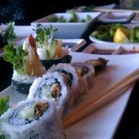 Photo taken at Sushi Wabi by Candice R. on 12/29/2011