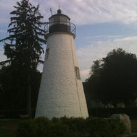 Photo taken at Concord Point and Lighthouse by Lisa S. on 7/11/2012