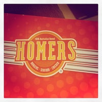 Photo taken at Homers Burgers Seafood & Chickens by Danijel  J. on 5/26/2012