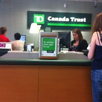 Photo taken at TD Canada Trust by Dasola D. on 7/19/2012