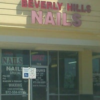 Photo taken at Beverly Hills Nails by Brian W. on 3/25/2012