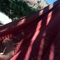 Photo taken at Ojo Caliente Mineral Springs Resort & Spa by Cate P. on 8/27/2012