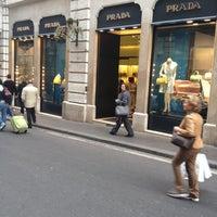 Photo taken at Prada by Waldyr Muniz O. on 4/2/2012