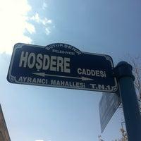 Photo taken at Hoşdere Caddesi by Metinol 💉 on 3/25/2012