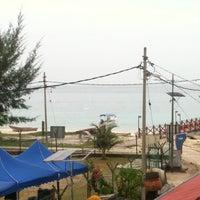 Photo taken at Pulau Tinggi by Alieya N. on 5/23/2012