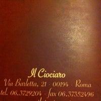 Photo taken at Ristorante Il Ciociaro by Nelson L. on 6/23/2012