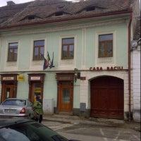 Photo taken at Casa Baciu by Peter K. on 4/16/2012