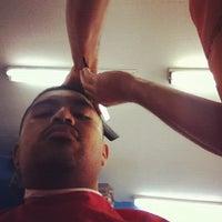 Photo taken at El Rubio Barber Shop by Jorge M. on 8/5/2012