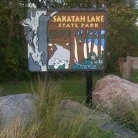 Photo taken at Sakatah Lake State Park by David F. on 9/1/2012